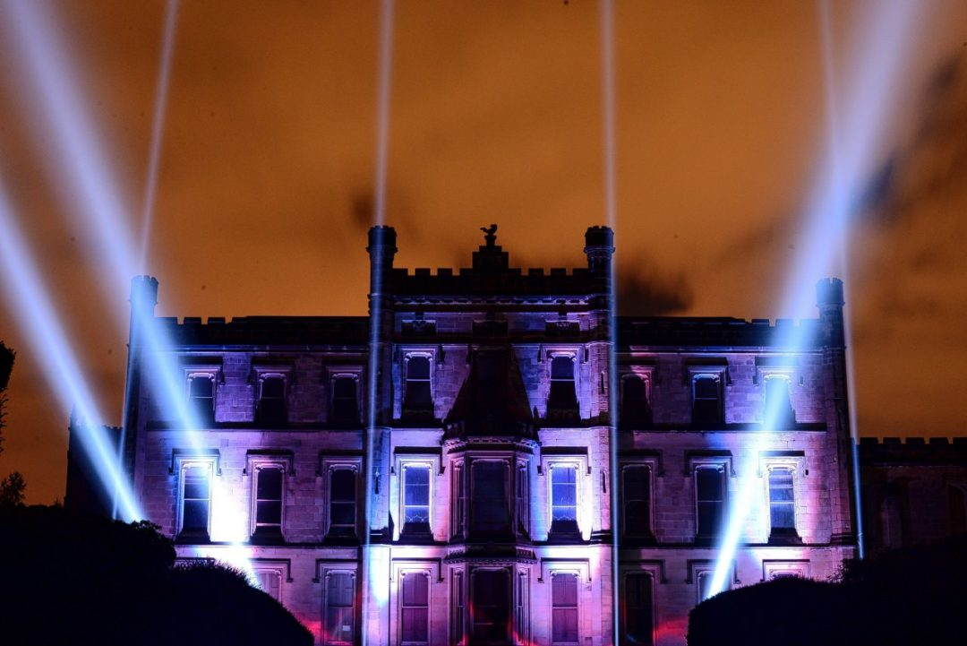 Elvaston Castle Lighting Display | Event Lighting