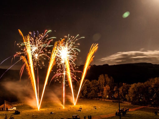 Knights Stainforth Bonfire Night Fireworks Display