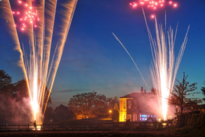 #dovecliff hall fireworks