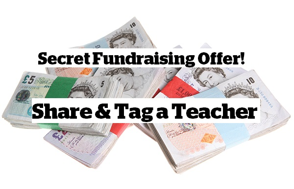 Secret school fundraising offer