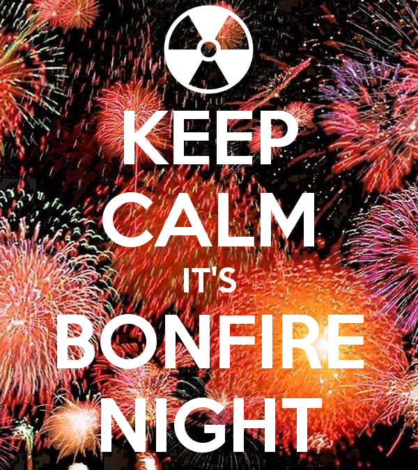 Keep calm it's bonfire night tips