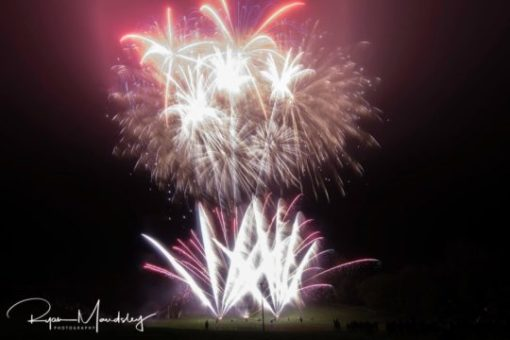 Bonfire Night Fireworks Knights Stainforth