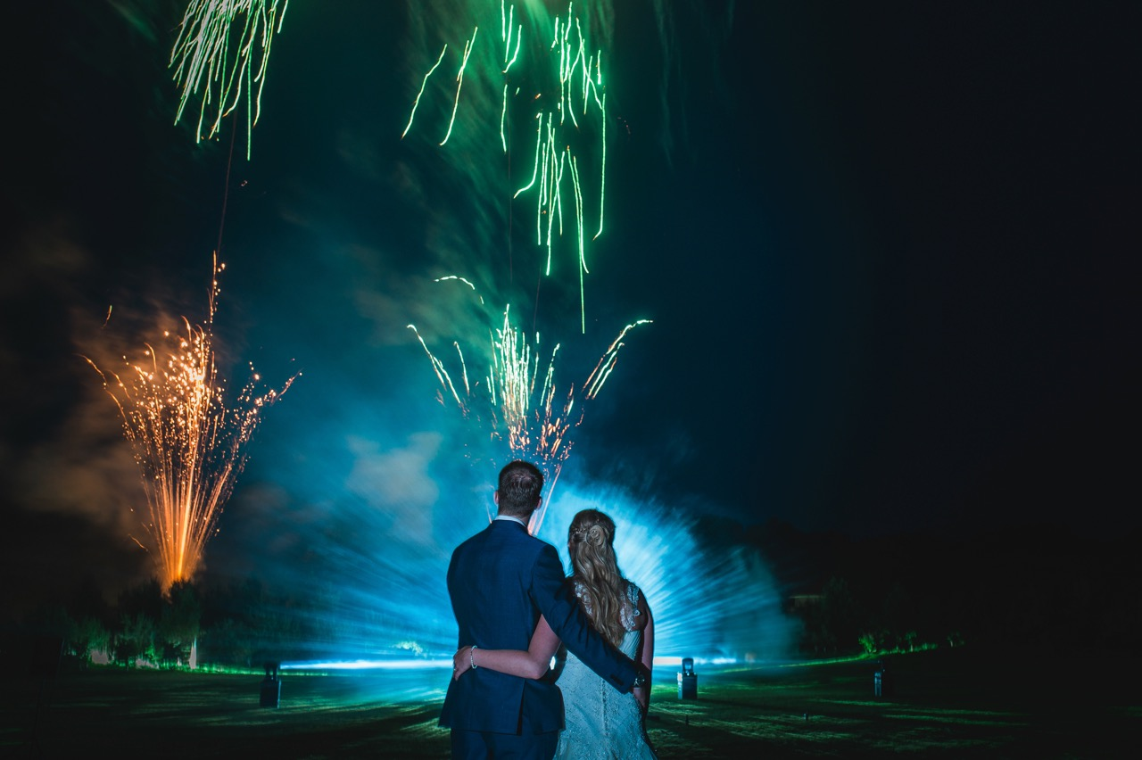 The Top 5 things to consider when having fireworks at your wedding