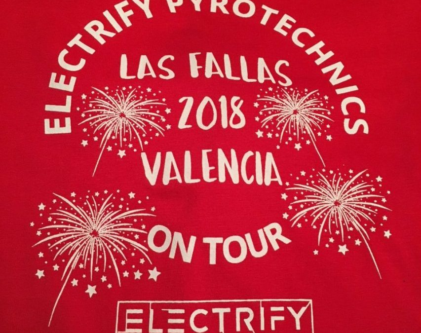 Electrify On Tour – Valencia Las Fallas