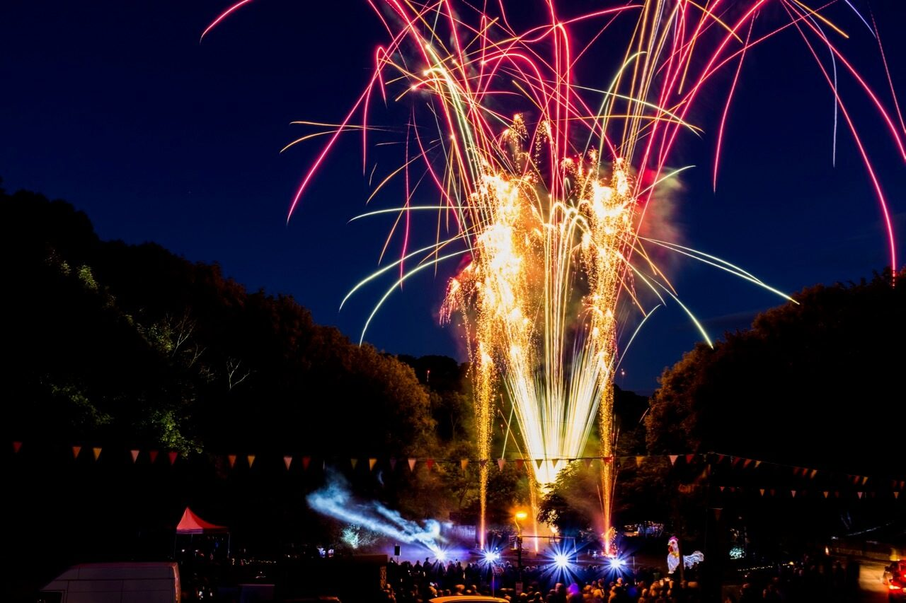 Bonsall Carnival Fireworks Display