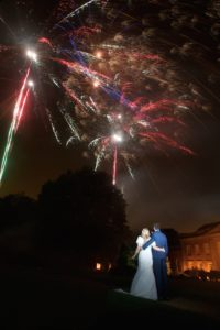 Wedding Firework photography