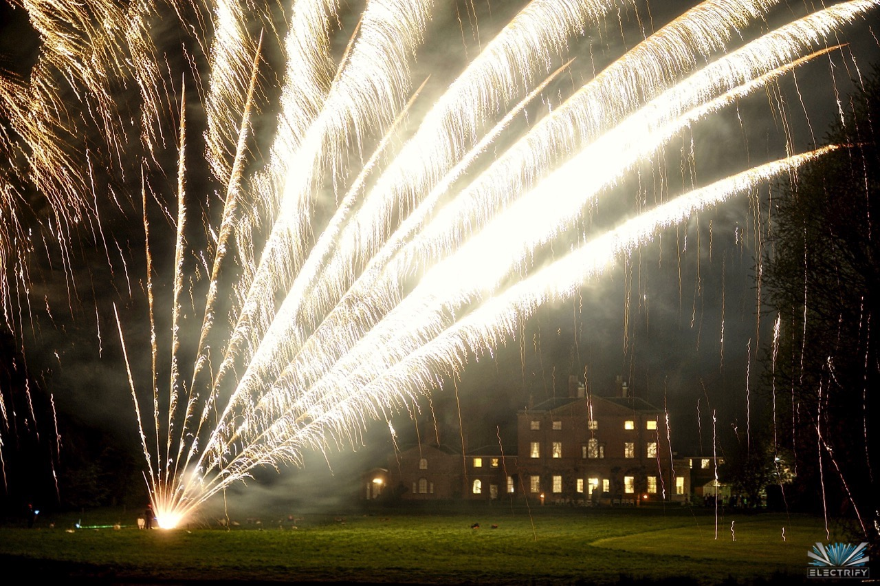 Top 10 Tips for your Wedding Fireworks Display