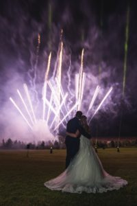 Wedding Fireworks | Peak Edge Hotel