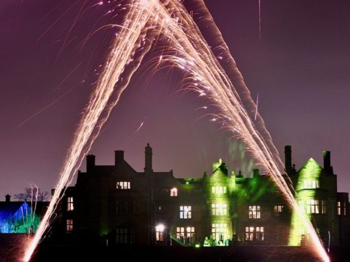 Fireworks at Thornton Manor
