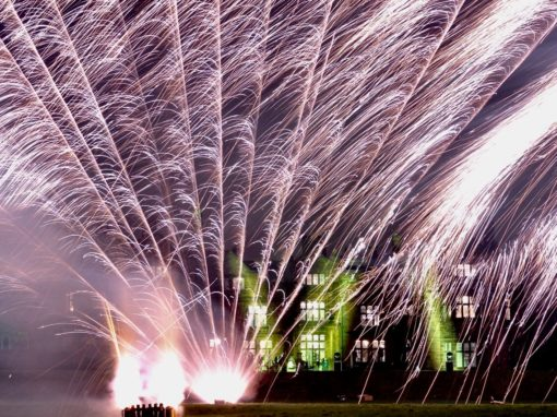 Wedding Fireworks Thornton Manor