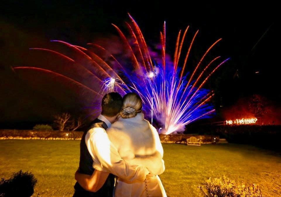 How much do fireworks cost for a wedding?
